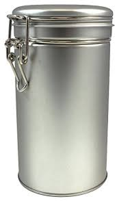 tea tins canister set with airtight double lids for loose tea