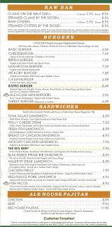 miller u0027s ale house menu