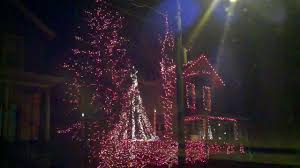 coolest christmas lights in saratoga springs ny youtube