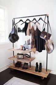 nice home accessory hangingrail style rose gold closet hanging