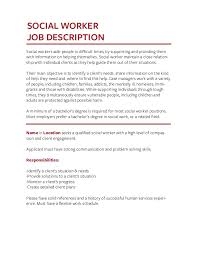 Food Service Worker Job Description Resume by Job Description Templates The Definitive Guide