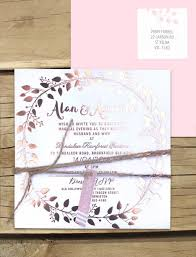 wedding invitations online australia metallic gold foil grecian garland invitation online