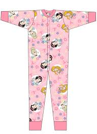 disney 100 cotton all in one pyjamas onezee pjs