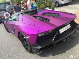 lamborghini purple purple lamborghini aventador lp 720 4 50th roadster teamspeed com