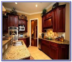 colors that go well with cherry wood painting home design