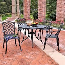 shop crosley furniture sedona 5 piece charcoal black aluminum