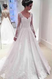 wedding dress 2017 newest a line sleeve wedding dress 2017 lace appliques a