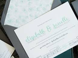 mint wedding invitations modern mint and gray wedding invitations
