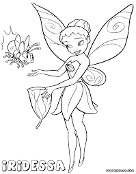 iridessa fairy coloring pages coloring pages to download and print