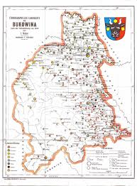 Agartha Map Ethnic Map Of Bukovina Romania 1910 Maps Of Romania