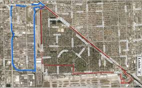 Miami Area Map by Miami Springs Pursuing Annexation West To Palmetto Expressway
