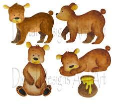 watercolor bear clipart bear clipart teddy bear clip art cute