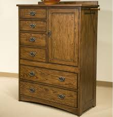 Bed Furniture With Drawers Intercon Oak Park Solid Oak Mission Chest With 6 Drawers With