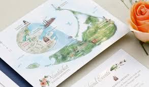 Nantucket Map Long Invitation Custom Gallery Anticipate Invitations