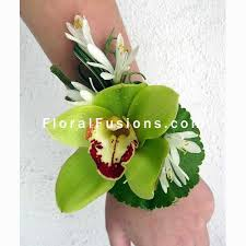orchid corsage cymbidium orchid corsage wedding flowers leicester