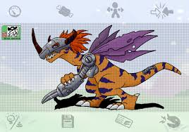 digimon drawings androgochi creations digimon unlimited