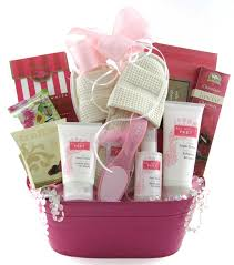 Mothers Day Baskets All About Feet Deluxe Glitter Gift Baskets