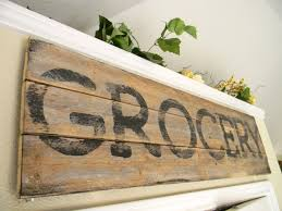 Coffee Wall Decor For Kitchen Sign Wood Kitchen Wall Decor Country Chic Distressed Farmhouse