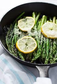 Asparagus Dishes Main Course - parmesan lemon asparagus skillet primavera kitchen