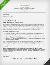 clinical pharmacist cover letter pharmacist cover letter examples