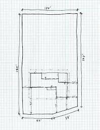 plan your house diy landscape design drawing your property base plan home