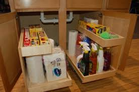 under kitchen sink storage ideas kitchen sink storage trays 5 home design garden architecture