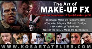 Special Effects Makeup Schools Chicago Kosart Atelier Home