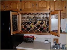 compact above cabinet wine rack 5 above kitchen cabinet wine