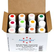 student kit 2 americolor soft gel paste food color cupcakes