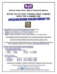 apply for a summer job u2013 vietaid