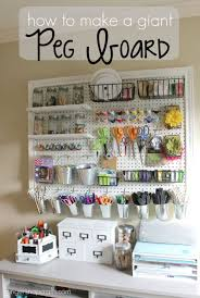 pegboard ideas kitchen how to a peg board for craft organization room