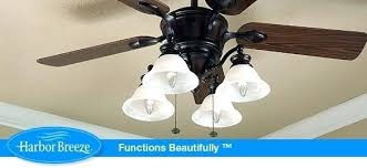 harbor breeze 52 inch ceiling fan harbor breeze 52 inches battler bronze indoor ceiling fan awesome