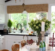 kitchen window seat decorating ideas