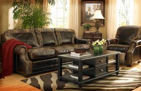 Leather Sofas San Antonio Furniture Rustic Leather Sectional For Sale Furniture San