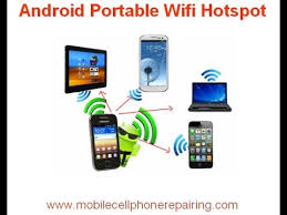 mobile hotspot for android android portable wifi hotspot
