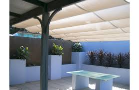 Shade Awnings Melbourne Shaderunner On Steel Cable Pergola Shades