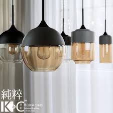 Glass Kitchen Pendant Lights Loft Vintage Pendant Light Glass Black White Gray Lshade