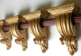 Curtain Rail Holders Curtain Sconces Decorate The House With Beautiful Curtains