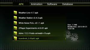 xbmc android apk qviart undro 1080p android hd digital satellite stb xbmc