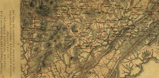 Northern Virginia Map by Shasteen Genealogy 1790 To Present Ray Shasteen Ray77001