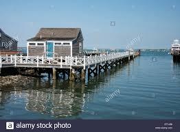 usa massachusetts nantucket straight wharf typical historic