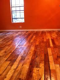 Wood Flooring Varnish Varnished Pallet Wood Floors They Look A Little Orange Because We