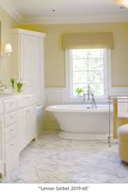 soft yellows with white pretty bathroom colors the ornament of