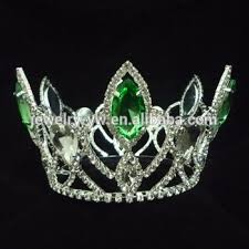 tiaras for sale peacock crowns tiaras green rhinestone pageant crown for