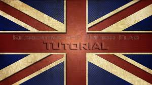 lets create the british flag in photoshop cs6 cs5 tutorial youtube