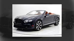black convertible bentley 2017 bentley continental gt v8 s convertible youtube
