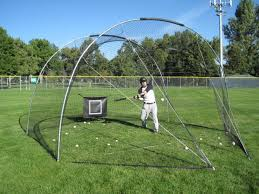 Backyard Batting Cages Reviews Backyard Batting Cage Portable Batting Cage For Mobile Practice