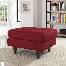 langley street warren upholstered ottoman u0026 reviews wayfair