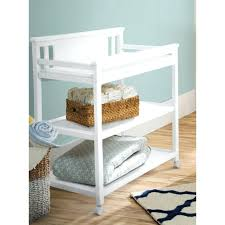 Changing Table Storage Baskets Wicker Changing Table Home Design Ideas And Pictures