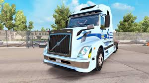 volvo tractor trailer skin for werner enterprises tractor volvo vnl 670 for american